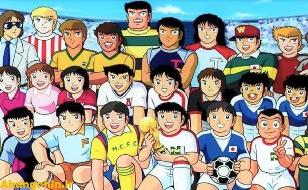 کارتن فوتبالیستها